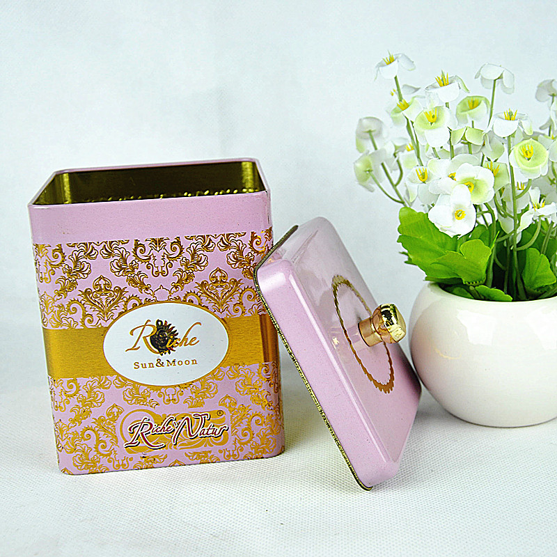 wholesale cookie tins,promotion tin container,square metal cookie box