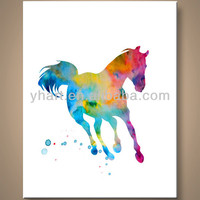 Wholesale handmade home abstract animal painting art