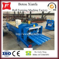 Low Cost Automatic Metal Roofing Glazed Tile Making Machine