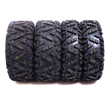 Set of 4 Sun.F A033 Front&Rear ATV Tyre 25x8-12 & 25x10-12