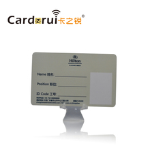 School student ID card, employee ID card, PVC membership card with hot print different photos and names
