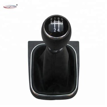 Hot Gear Shift Knob With Boot For Golf 6 Jetta MK5