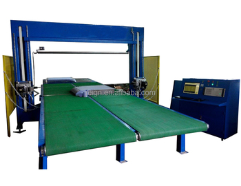 High quality acceptable price mattress cutting machine with both horizontal and vertical oscillating blades