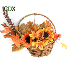 Promotional artificial Thanksgiving and Autumn Harvest festival twig floral pick party fall decorations