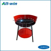 High-quality large BBQ grill for camping charcoal cooking