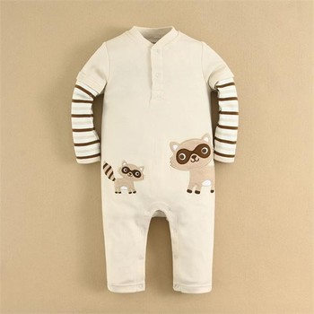 2015 Spring 100% Cotton Sleepsuit/Romper for Infant Baby Ready for Sale Item(14235)