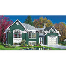 Nice-looking cheap Prefab house with three bedrooms two bathroom one living room one kitchen room