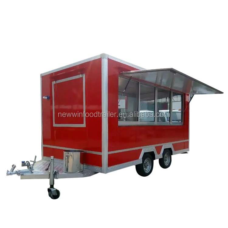 Factory direct tricycle food cart truck trailer