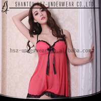 2015 Adult sexy hot-sexy-nighty hot selling women sleep wear nighty