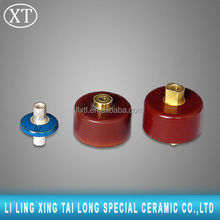 High voltage 30kv 300pf feed through capacitor for feeder line