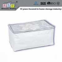 Good quality wholesale price zipper plastic bag for blanket storage