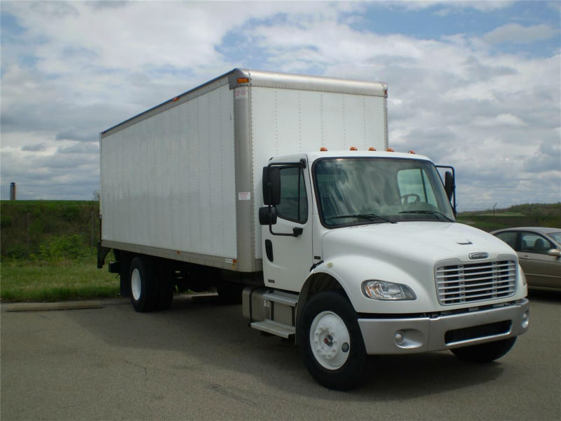used cargo refrigerated truck