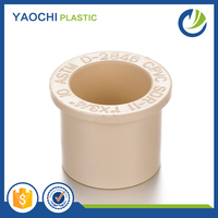 All sizes available plastic quick assemble cpvc reducing bush