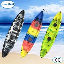 New design cool plastic kayak for two person for sale