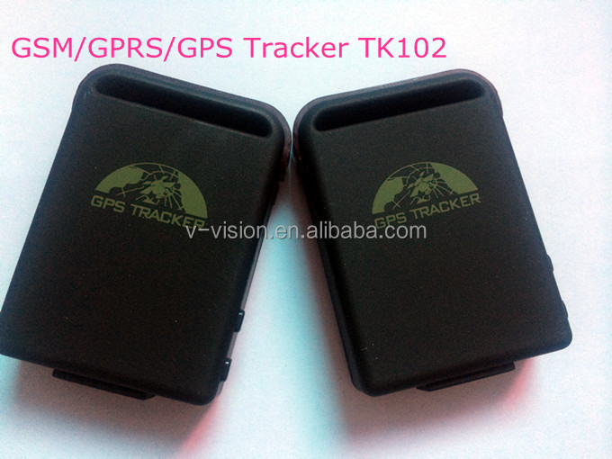 Cheapest Price! Quadband Mini Portable GPS Tracker TK102 with SOS for Personal and Pet Tracking