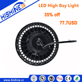 5 years warranty 150W UFO led high bay light best HBG Meanwell driver IP65 cheap led high bay lighting price