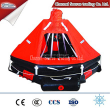 KHD type davit-launched inflatable life raft, Marine life saving raft with good price