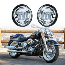 sanyou lighting 4 inch motorcycle harley motorcycle 30w led fog light lamp