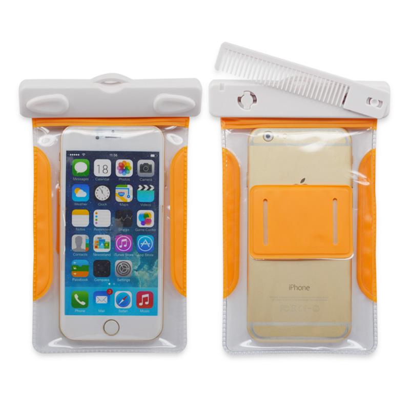 hot sell phone case pvc water proof bag for iphone 6