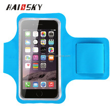 HAISSKY Waterproof Sport Armband Case Cover for iPhone 7 7 plus 5 Samsung Galaxy s6 edge S6 S5 cell phone Accessories