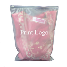 Custom Logo Ziplock Seal PE Baby Clothing Packaing Plastic bag