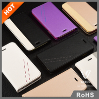 New product cell phone cover luxury leather case for Apple iphone6&6plus with card slot