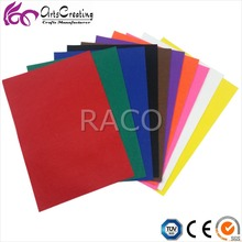 1mm / 2mm / 3mm / 5mm thick stiff hard felt sheets , hobby non woven feltro