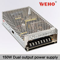 WEHO 150W Dual output switching power supply 15v 5a power supply
