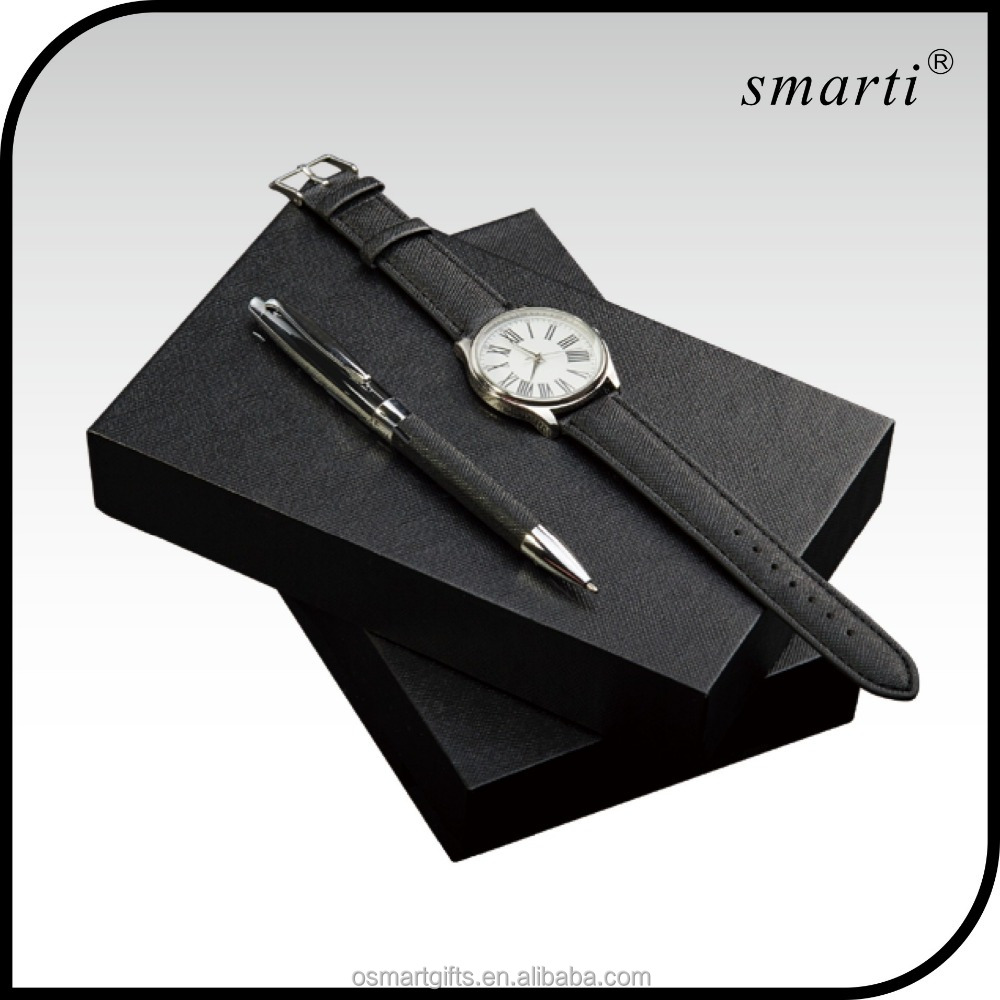 luxury pen corporate gift sets custom watch, men watches luxury