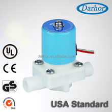 Small Plastic Wire Direct Acting Water Solenoid Valve