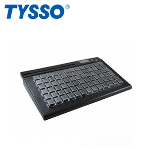 POS Manufacturer TYSSO 78 Keys POS Keyboard for POS Systems
