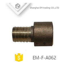 EM-F-A062 Copper alloy male elbow threaded hose brass press fitting