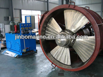 Marine Controllable pitch propeller CPP bow thruster