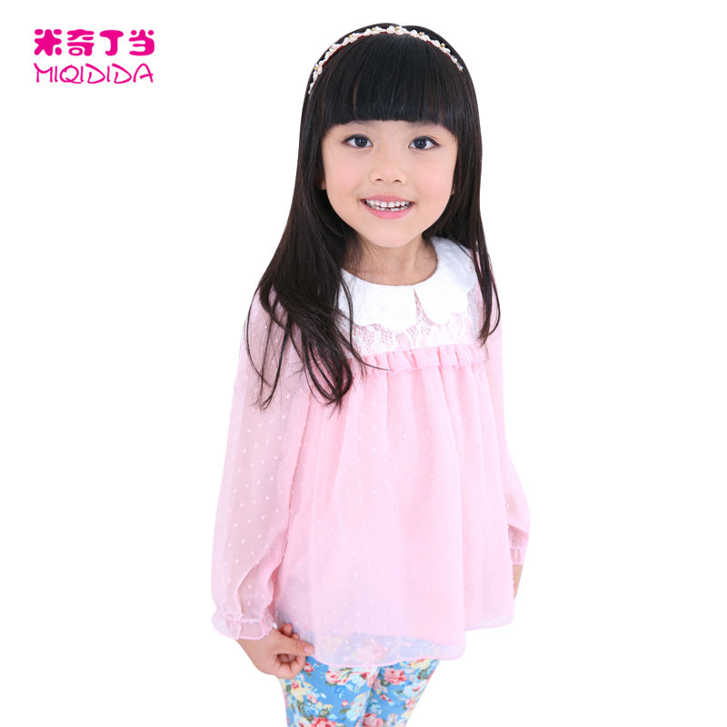 2013 In Stock Autumn and Winter fashion children Jacquard chiffon dress the doll
