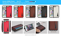 Factory price 2015 new leather phone case for Iphone6S
