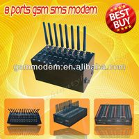 HOT!GSM modem Wavecom modem 8ports usb modem for bulk sms modem,SMS caster,quad band sms/multi port gsm sim box