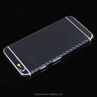 Hot sale screen protector for iphone 5 SE carbon fiber skin wraps sticker black full body phone case cover