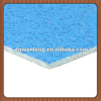 Wanfeng colorful cheap laminate flooring foam underlayment