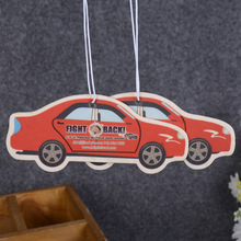Hot sale Customizable cheap Car Shaped Paper Car Air Fresheners car vent air freshener
