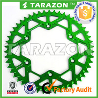 TARAZON brand cnc aluminum motorcycle sprocket off road rmz250