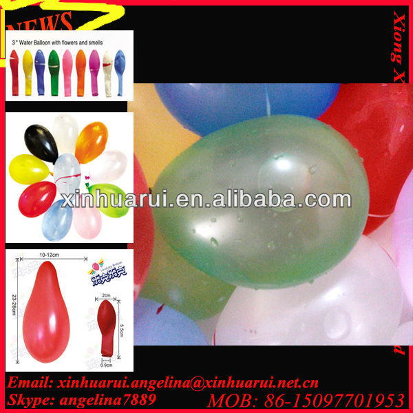 neon water bomb balloon magic
