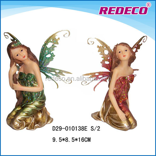 Resin small fairy figurines