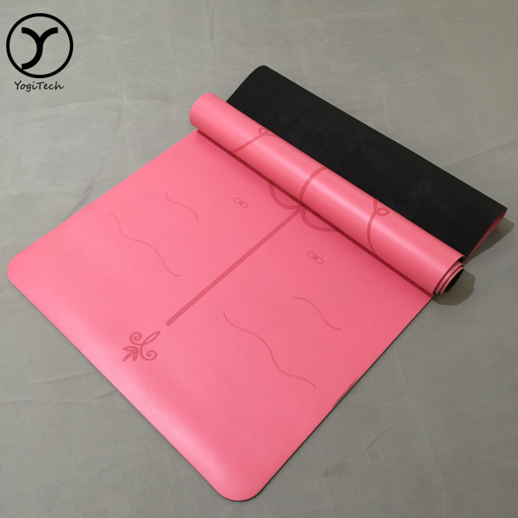 "Foldable Eco-Friendly Machine Washable Absorbent Anti-Tear supreme fitness flow 1/4"" yoga/pilates mat"