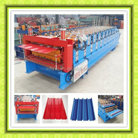 Hot sale in Africa,Roof panel double layer roll forming machine