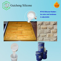 rtv2 silicone rubber for artifical stone/culture stone molds