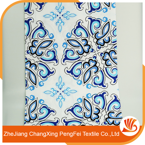 Chinese style polyester digital printed fabrics for bed sheet