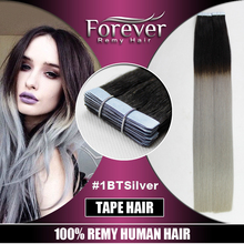 Aliexpress UK Best Selling Remy Double Drawn Brazilian Indian human Tape Hair Extensions
