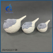 kid gifts handmade white ceramic bird