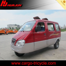 passenger enclosed cabin 3 wheel motorcycle/cargo tricycle with closed cabin/chinese mini truck