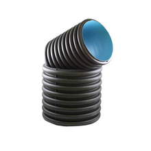 hdpe corrugated large diameter drainage pipe for slide